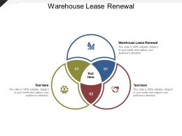 Warehouse Lease Renewal Ppt Powerpoint Presentation Summary Graphics Tutorials Cpb