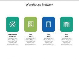 Warehouse Network Ppt Powerpoint Presentation Gallery Aids Cpb