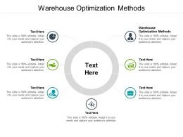 Warehouse Optimization Methods Ppt Powerpoint Presentation Graphics Cpb