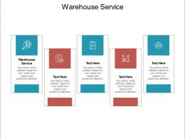 Warehouse Service Ppt Powerpoint Presentation Guide Cpb