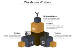 Warehouse Workers Ppt Powerpoint Presentation Ideas Background Image Cpb