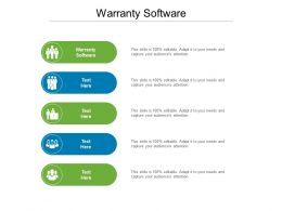 Warranty Software Ppt Powerpoint Presentation Styles Show Cpb
