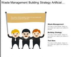 Waste Management Building Strategy Artificial Intelligence Training Strategy