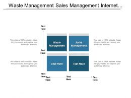Waste Management Sales Management Internet Marketing Promotion Ecommerce Cpb
