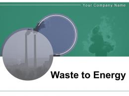 Waste To Energy Converting Generated Treatment Incineration Conversion
