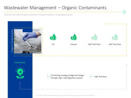 Wastewater Management Organic Contaminants M1547 Ppt Powerpoint Presentation Styles Grid