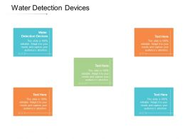 Water Detection Devices Ppt Powerpoint Presentation Styles Maker Cpb