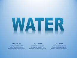 Water Management Resource Conservation Save Water