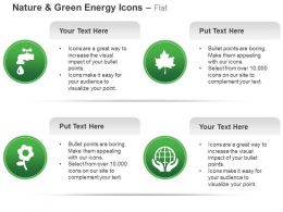 Water Nature Leaf Earth Safety Ppt Icons Graphics