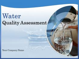 Water Quality Assessment Powerpoint Presentation Slides