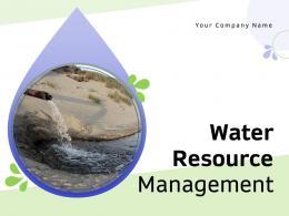 Water Resource Management Powerpoint Presentation Slides