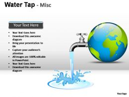 water_tap_misc_powerpoint_presentation_slides_Slide01