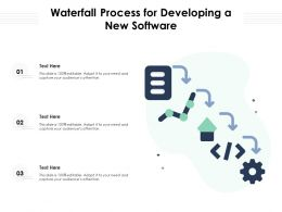 Waterfall Process For Developing A New Software