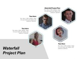 Waterfall Project Plan Ppt Powerpoint Presentation Infographic Template Layouts Cpb