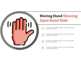 Waving Hand Showing Open Hand Slide