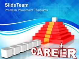 Way To Career Future Success Powerpoint Templates Ppt Themes And Graphics 0313