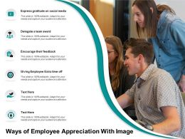 Ways Of Employee Appreciation With Image