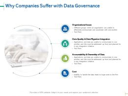 Ways To Establish Data Governance Program Data Quality And Data Migration Integration