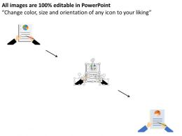 we_business_records_with_pie_chart_result_analysis_flat_powerpoint_design_Slide02