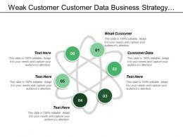 Weak Customer Customer Data Business Strategy Technical Architecture