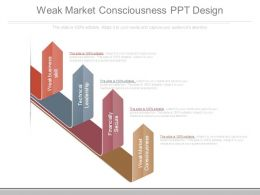 Weak Market Consciousness Ppt Design