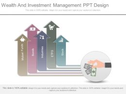 Wealth And Investment Management Ppt Design