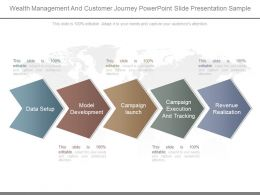 Wealth Management And Customer Journey Powerpoint Slide Presentation Sample