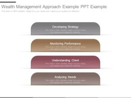 Wealth Management Approach Example Ppt Example