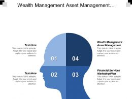 Wealth Management Asset Management Financial Services Marketing Plan Cpb