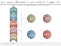 Wealth Management Consultative Process Powerpoint Slide Presentation Tips