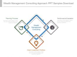 Wealth Management Consulting Approach Ppt Samples Download