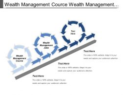 Wealth Management Course Wealth Management Jobs Marketing Information System