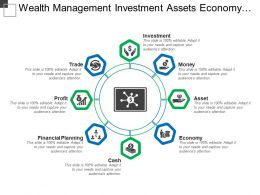 Wealth Management Investment Assets Economy Cash Financial Planning