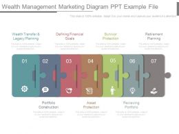 Wealth Management Marketing Diagram Ppt Example File
