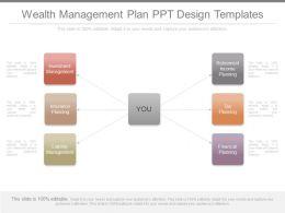 Wealth Management Plan Ppt Design Templates