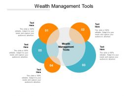 Wealth Management Tools Ppt Powerpoint Presentation Professional Background Image Cpb
