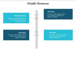 Wealth Revenue Ppt Powerpoint Presentation Icon Ideas Cpb