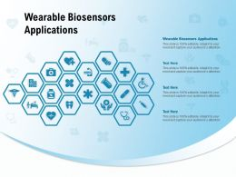 Wearable Biosensors Applications Ppt Powerpoint Presentation Portfolio Styles