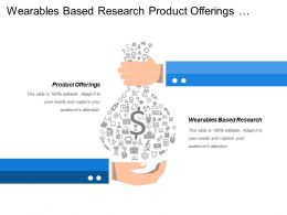 Wearables Based Research Product Offerings Market Strategy