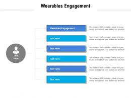 Wearables Engagement Ppt Powerpoint Presentation Summary Inspiration Cpb