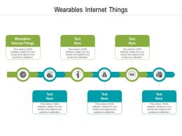 Wearables Internet Things Ppt Powerpoint Presentation File Clipart Cpb