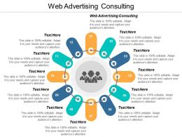 Web Advertising Consulting Ppt Powerpoint Presentation Model Layout Cpb