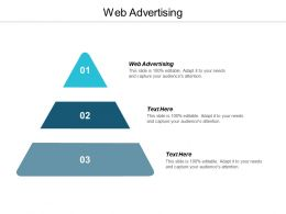 Web Advertising Ppt Powerpoint Presentation Infographic Template Elements Cpb