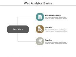 Web Analytics Basics Ppt Powerpoint Presentation Model Grid Cpb