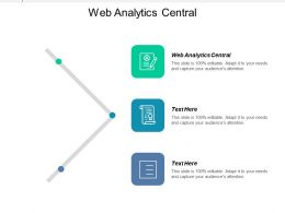 Web Analytics Central Ppt Powerpoint Presentation Infographics Example Introduction Cpb