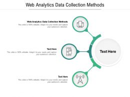 Web Analytics Data Collection Methods Ppt Powerpoint Presentation Show Diagrams Cpb