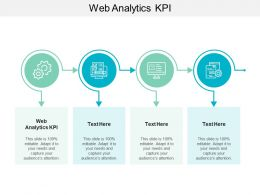 Web Analytics KPI Ppt Powerpoint Presentation Inspiration Layouts Cpb