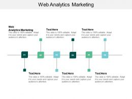 Web Analytics Marketing Ppt Powerpoint Presentation Portfolio Design Inspiration Cpb