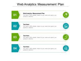 Web Analytics Measurement Plan Ppt Powerpoint Presentation File Formats Cpb