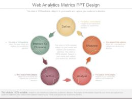 Web Analytics Metrics Ppt Design